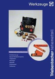 Werkzeuge - Triebenbacher