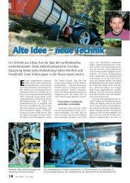 Alte Idee - neue Technik - Urs Schmid Landmaschinen