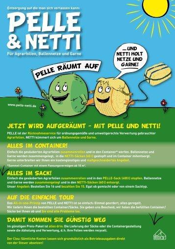 Folienrücknahme Pelle & Netti PDF - Trioplast