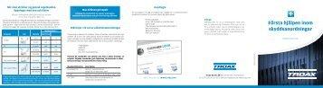 Första hjälpen - Guide för Säkerhetsavstånd - Troax
