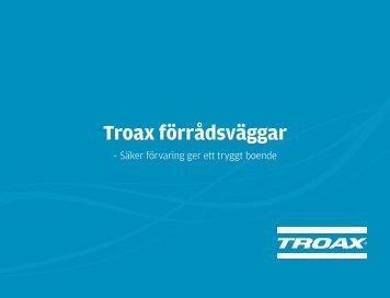 Troax förrådsväggar