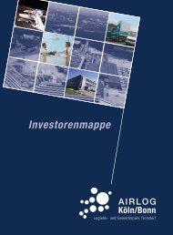 Investorenmappe AIRLOG Köln/Bonn - Stadt Troisdorf