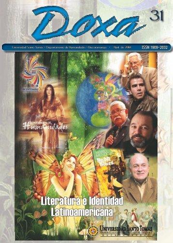 Literatura e Identidad Latinoamericana - universidad santo tomas de ...