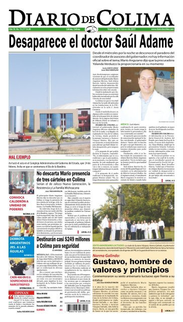 Gustavo Hombre De Valores Y Principios Universidad De Colima