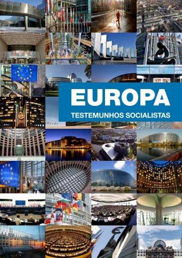 Brochura - Socialistas Portugueses no Parlamento Europeu