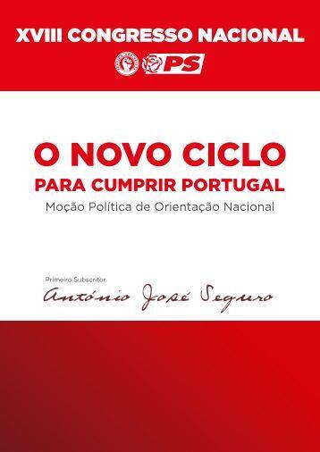 Faça download da Moção Política de Orientação ... - O Novo Ciclo