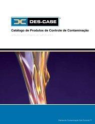 Catálogo de Produtos de Controle de Contaminação - Des-Case ...