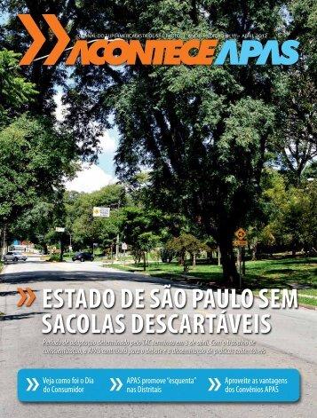 ESTADO DE SÃO PAULO SEM SACOLAS DESCARTÁVEIS - Apas
