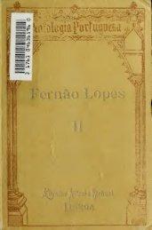 Fernão Lopes. [Obras]