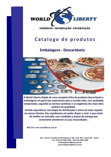 Catalogo de produtos - World Liberty