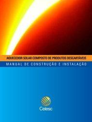 Manual do Aquecedor Solar - Celesc