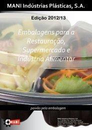 Embalagens para a Restauração, Supermercado e Indústria ... - Mani