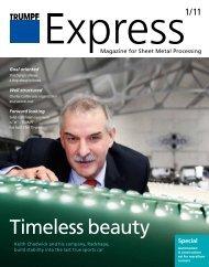 Timeless beauty - Trumpf GmbH + Co. KG