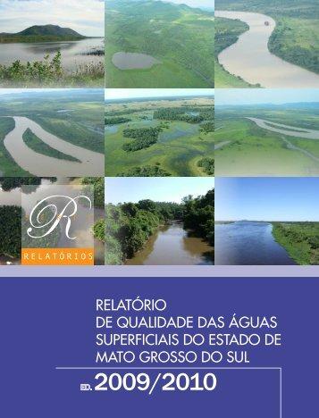 Relatório de Qualidade das Águas Superficiais - Governo do Estado ...