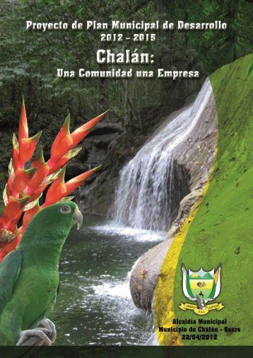 Plan de Desarrollo del Municipio de Chalán