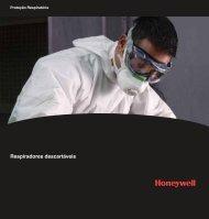 Catálogo Respiradores Descartáveis - Honeywell Safety Products
