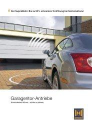 Garagentor-Antriebe - Van Dam Garagedeuren
