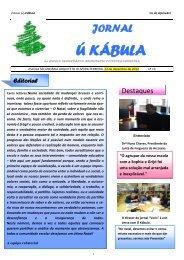Ú Kábula 13 - Escola S/3 Arquitecto Oliveira Ferreira