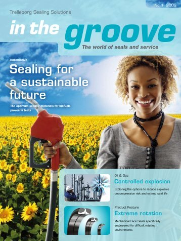 in the groove, all industries, 1/2009 - Trelleborg Sealing Solutions