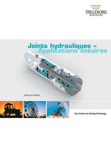 Joints de Piston  - Trelleborg Sealing Solutions