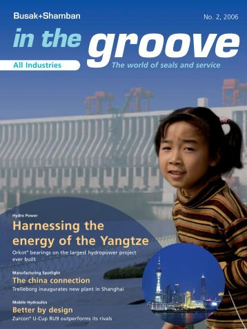 in the groove - Trelleborg Sealing Solutions