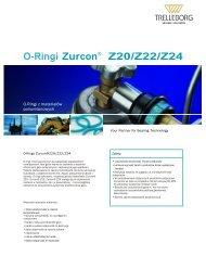 O-Ringi Zurcon® Z20/Z22 - Trelleborg Sealing Solutions