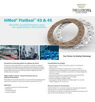 HiMod® FlatSeal™ 43 & 45 -  Trelleborg Sealing Solutions
