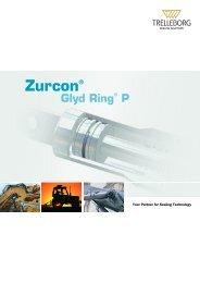 Zurcon® Glyd Ring® P - Trelleborg Sealing Solutions