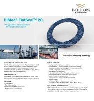 HiMod® FlatSeal™ 20 - Trelleborg Sealing Solutions