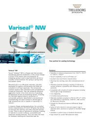 Variseal® NW - Trelleborg Sealing Solutions