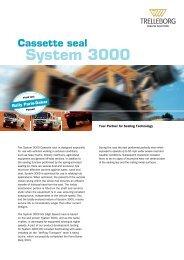 System 3000 Cassette seal - Trelleborg Sealing Solutions