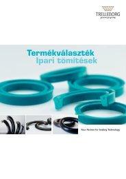 Termékválaszték - Ipari tömítések - Trelleborg Sealing Solutions