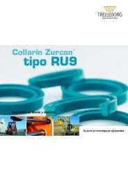 Collarín Zurcon tipo RU9 - Trelleborg Sealing Solutions