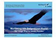 Marketing mit Zielgruppen-Radar