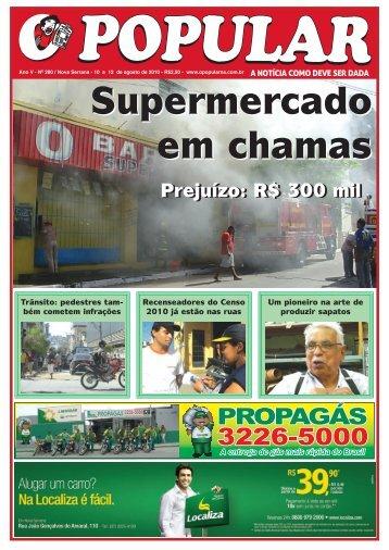 Popular 280.pmd - Jornal O Popular de Nova Serrana