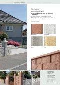 Exklusive Mauer-Abdeckplatten - UHL Verbundstein AG - Seite 4