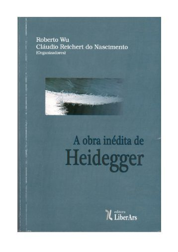 A fenomenologia heideggeriana e a construção tridimensional da ...