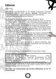 Zeitung 2011 Layout.indd - Technische Universität Braunschweig