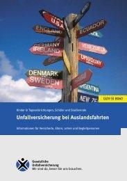 Unfallversicherung bei Auslandsfahrten - Regelwerk des ...