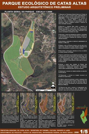 parque ecológico de catas altas - Escola de Arquitetura – UFMG