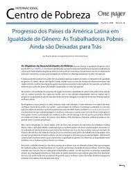 entro de Pobreza - International Policy Centre for Inclusive Growth