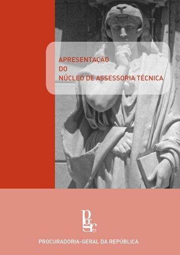 Brochura de apresentação do NAT - Procuradoria-Geral da República