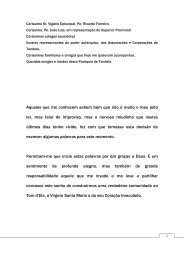 Discurso de tomada de posse do Pe. Manuel - Paróquia de Santa ...