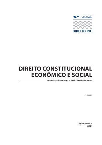 direito constitucional econômico e social - Cadernos Colaborativos ...