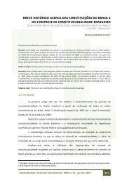 breve histórico acerca das constituições do brasil e do controle de ...