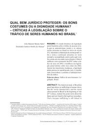 qual bem jurídico proteger - revista internacional direito e cidadania
