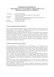 Quantifizierung von Ungenauigkeiten regionaler Klima- und ...