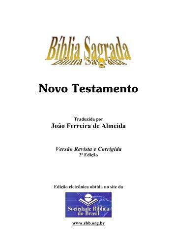 Bíblia Sagrada RC - Novo Testamento - Livraria Flamarion