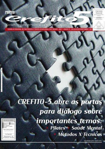 Revista Setembro – n° 31 - Crefito5