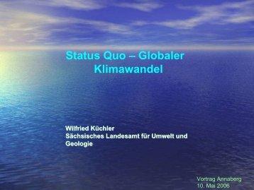 Wilfried Küchler Sächsisches Landesamt für Umwelt und Geologie